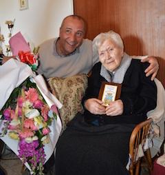 A Piano di Sorrento si festeggiano i 100 anni di Angela Pollio