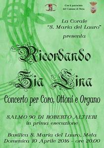 In penisola due weekend all'insegna della musica sacra