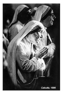 Nella chiesa dell'Addolorata in mostra le foto di Madre Teresa