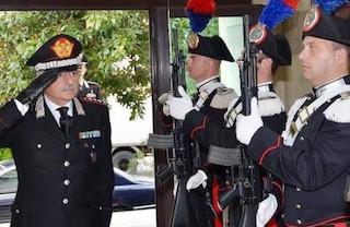 Cambio della guardia al comando dei carabinieri del Sud Italia