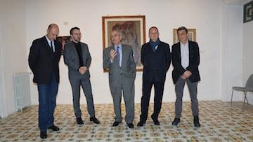 Inaugurata la mostra dei grandi pittori del '900 a Villa Fiorentino