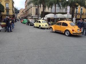 Raduno di Maggiolini a Sorrento