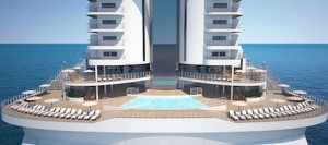 MSC Seaside, panoramic pool