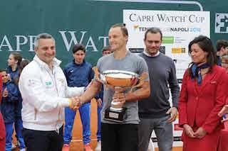 Grande successo per la Capri Watch Cup di tennis