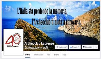 L'Archeoclub di Massa Lubrense sbarca su Facebook