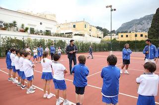Capri Watch a caccia dei futuri campioni del tennis
