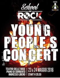 Al Teatro delle Rose l'esibizione di giovani rocker della costiera