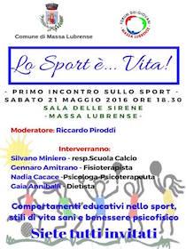 Il Forum dei Giovani di Massa Lubrense organizza un convegno sullo sport