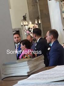 Oggi a Vico Equense il matrimonio del difensore dell'Inter D'Ambrosio