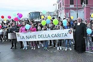 """Domani la """"Nave del Cuore"""" arriva a Sorrento"""