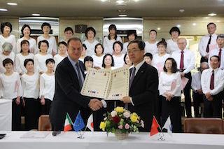 Il Comune giapponese di Kumano assume giovani di Sorrento
