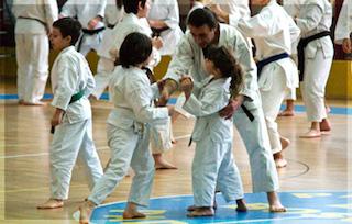 Arti marziali, esibizione a Sant'Agata sui due Golfi