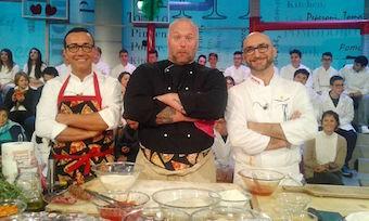 """Esposito, Sorbillo e Bonci, il """"trio della pizza"""" ospite a La Prova del Cuoco"""