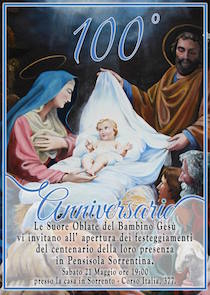 Festa per i 100 anni delle Suore Oblate in penisola sorrentina