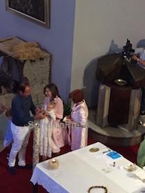 Al Capo di Sorrento il battesimo dell'ultima figlia di Veronica Maya