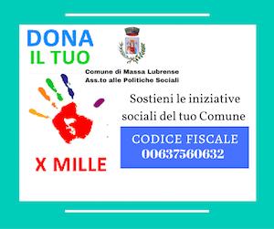 Politiche sociali: Lanciata la campagna per il 5 per mille al Comune