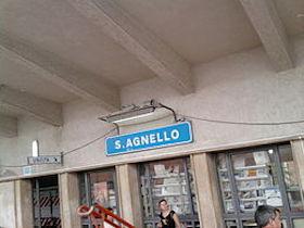 Stop Soprintendenza al restyling stazione di Sant'Agnello