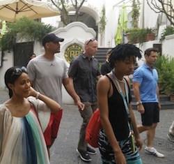 Puntata a Capri per Will Smith e famiglia