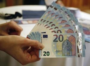 A Napoli la prima stamperia dei nuovi 20 euro falsi