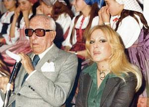 """Addio a Eliana Merolla, seconda moglie del """"Comandante"""" Achille Lauro"""