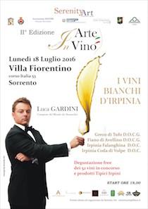 A Sorrento una giornata dedicata ai vini irpini