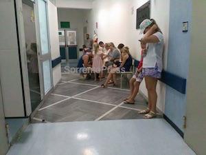 Infermiera picchiata al pronto soccorso dell'ospedale di Sorrento