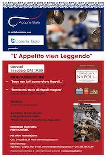 I libri di Del Tufo e Ponticello all'Acqu'e Sale di Sorrento