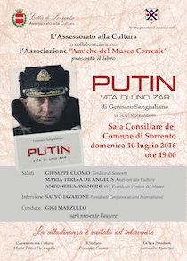 Marzullo presenta a Sorrento il libro di Sangiuliano su Putin