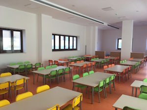 Completati i lavori alla mensa della scuola Vittorio Veneto