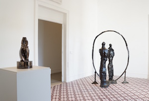 A Villa Fiorentino rimosse le sculture, arrivano i presepi