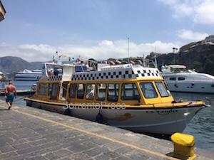 A Sorrento il taxi del mare targato Aponte-Di Leva
