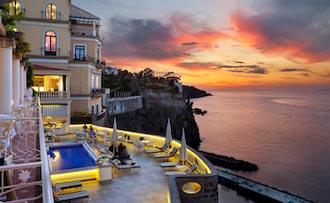 Migliori hotel sul mare, premi a Sorrento, Capri e Vico Equense