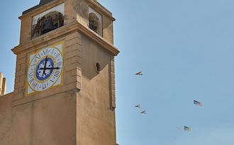 Capri Watch, dal cielo auguri da record