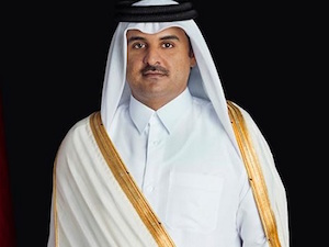 L'emiro del Qatar a Marina del Cantone