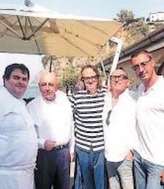 Galliani a La Torre del Saracino prima di Napoli-Milan