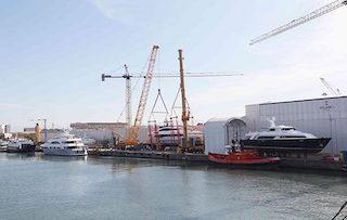 Due superyacht da 43 e 65 metri in costruzione nei cantieri Palumbo