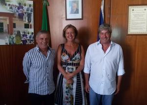 Il ministro Lorenzin in vacanza a Massa Lubrense