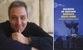 """A Sorrento """"Un Libro in Piazza"""", con Maurizio De Giovanni"""