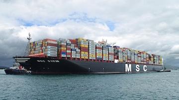 Msc vara la portacontainer più grande del mondo