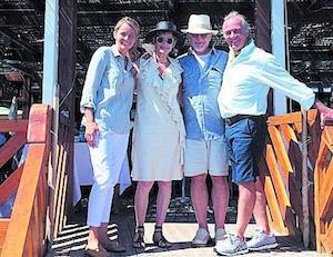 A Nerano approdano Spielberg e Carolina di Monaco