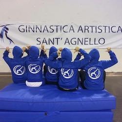 Al via la stagione della Ginnastica Artistica Sant'Agnello