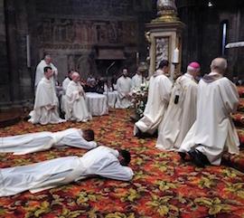 Ordinazione di due sacerdoti alla Cattedrale di Sorrento