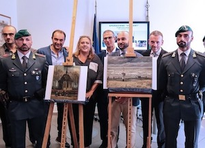 Due quadri di Van Gogh recuperati a Castellammare di Stabia