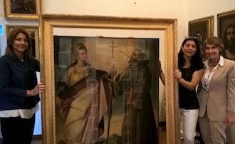 Al via il restauro sponsorizzato dalle Amiche del Museo Correale