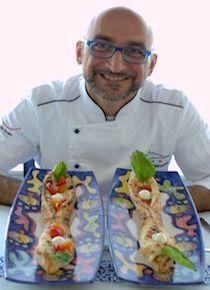 Lo chef pizzaiolo Antonino Esposito alla Sigep di Rimini
