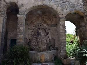 Torna a scorrere l'acqua nella Fontana del Cerriglio
