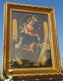 Fedeli in fermento per l'arrivo dell'icona della Madonna di Pompei
