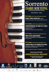 """Al via il """"Sorrento Chamber Music Festival"""""""