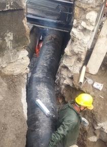 """Lavori alla rete idrica, Gori: """"Tentiamo di finire in anticipo"""""""
