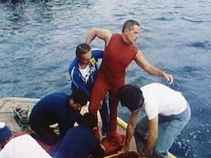 Addio a Enzo Maiorca, stabilì il record di apnea al Vervece